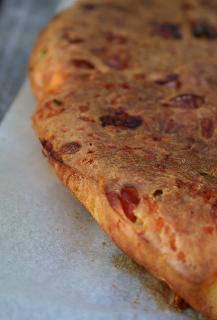 Clafoutis tomate séchée/jambon