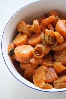 carotte au lait de coco et citronnelle