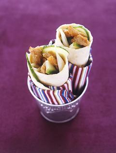 Kebab de tripes sauce yaourt et concombre