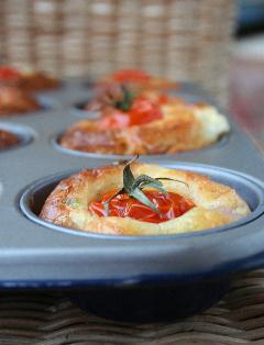 Petits cake à la tomate