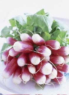 Soupe légère de fanes de radis